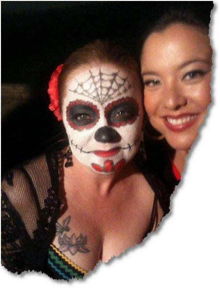 Halloween 2011 Dia de Los Muertos