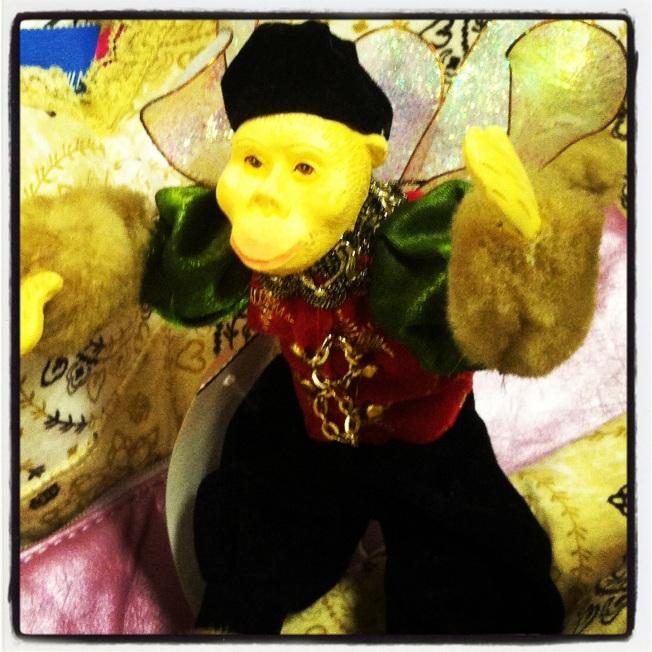 my monkey has wings!